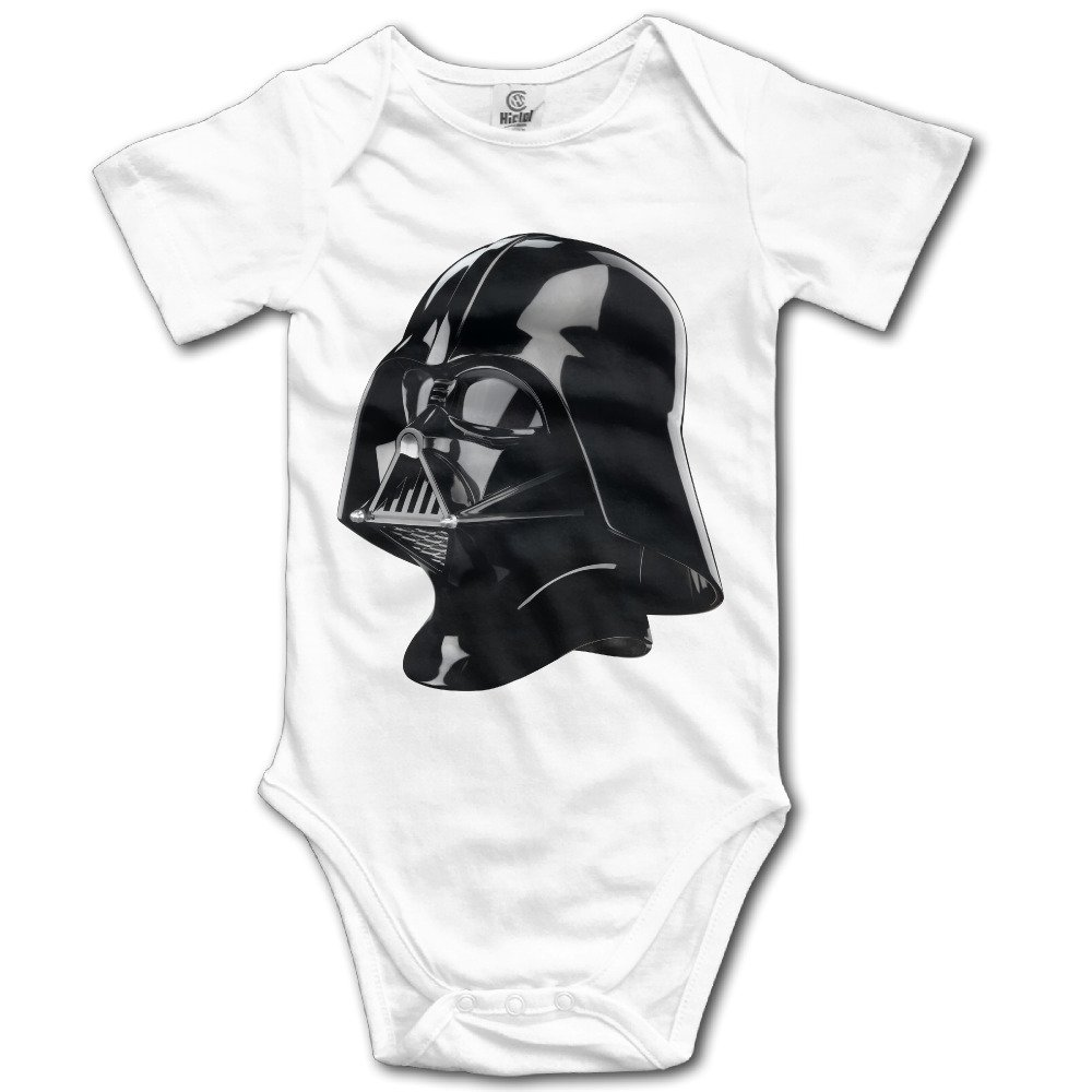 Darth Vader Stormtrooper Logo Infant Girls Onesies Bodysuits