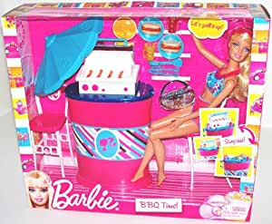 Barbie BBQ Time (Barbie Doll and BBQ Furniture)