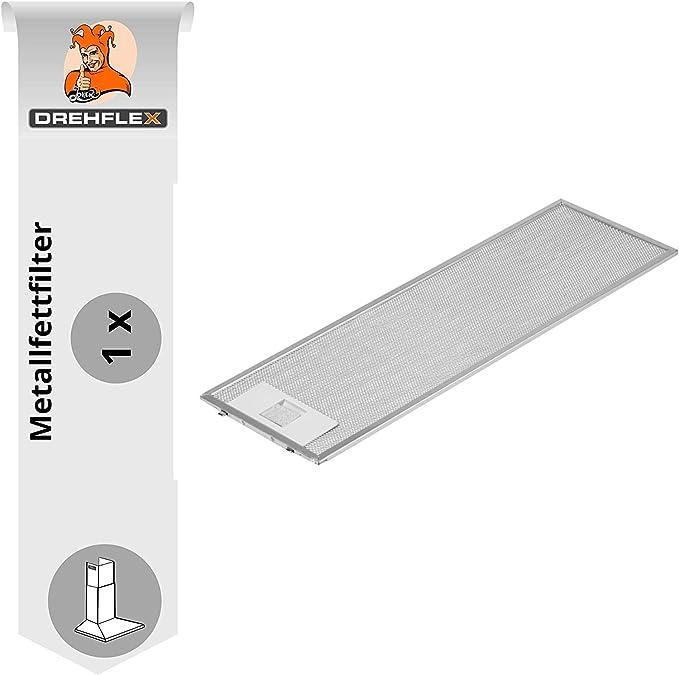 DREHFLEX AK101 4055344149 50268370009-1 filtro metálico para campana extractora (507 x 158 mm): Amazon.es: Hogar