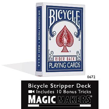 Bicycle Stripper Deck - Blue
