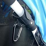 Universal Mummy Buggy Clip Baby Pushchair Stroller Hook Shopping Bag Holder