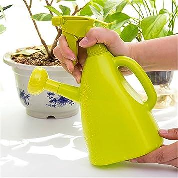 gabrielley gran capacidad plástico riego maceta riego bottle-green