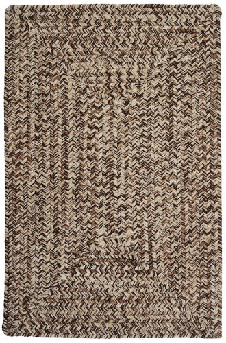 Colonial Mills Braided Runner Area Rug 2'x6' Brown Corsica Collection