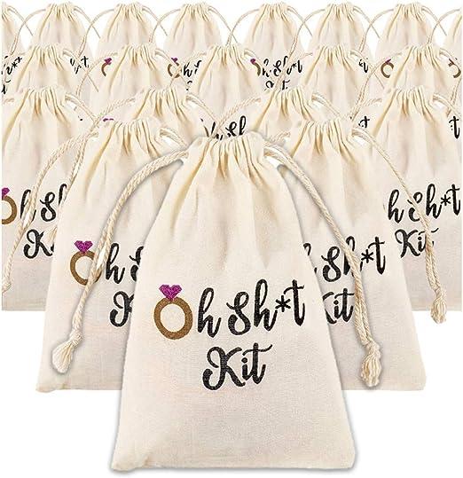 Bolsas de cordón – 20 unidades bolsa de joyería para bodas regalos de fiesta de cumpleaños bolsas de regalo suministros para fiesta de golosinas B