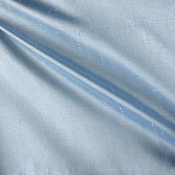 Amazon.com: 100% Seda Shantung azul marino tela por The Yard ...