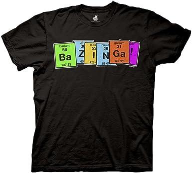 Evolution to Robot Mens T Shirt Big Bang Theory Sheldon Cooper Bazinga