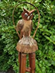 LARGE OWL BAMBOO WINDCHIME/wind chime...