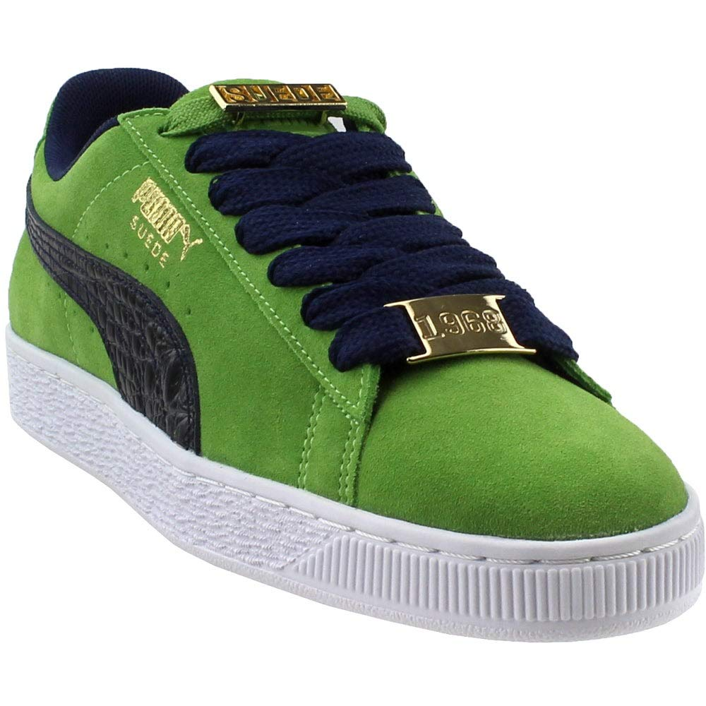huge discount ae671 060ab PUMA Men's Suede Classic Bboy Fab Forest Green/Peacoat Ankle-High Fashion  Sneaker - 8.5M