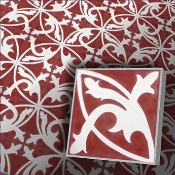 1m² Dekorfliesen Zementfliesen Mondial 4122 Decor