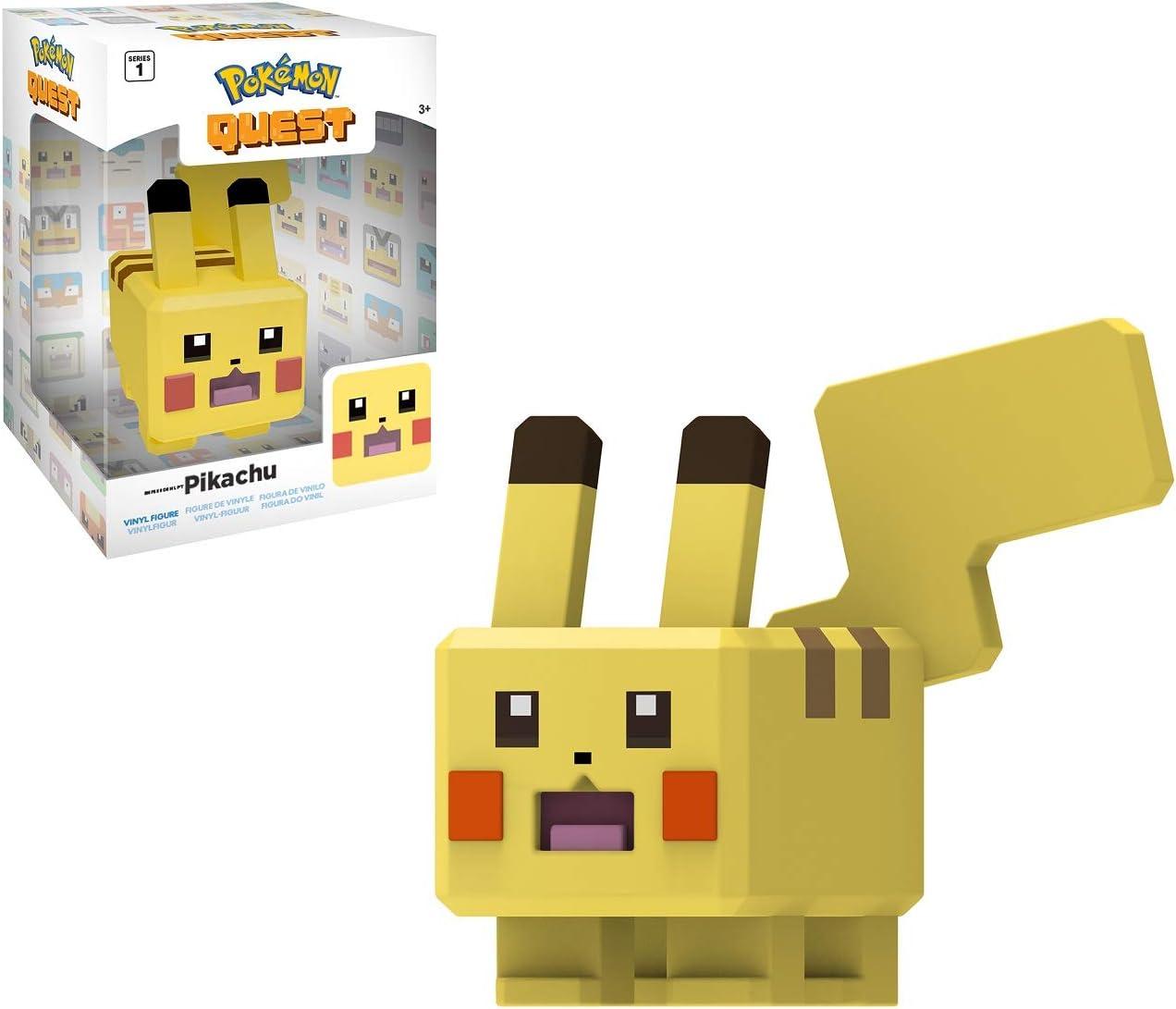 """Pokemon Quest ~ 4/"""" Vinyl Figure ~ Pikachu"""