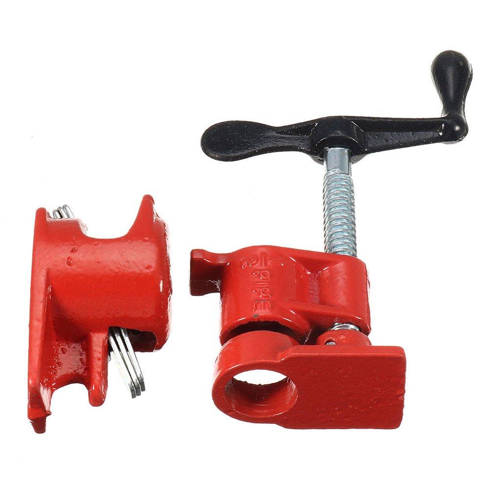 'perg Transferencia 1/2 hierro fundido pesado cola para madera abrazadera de tubo clip Set Madera Edició n carpintero Herramientas PerGrate
