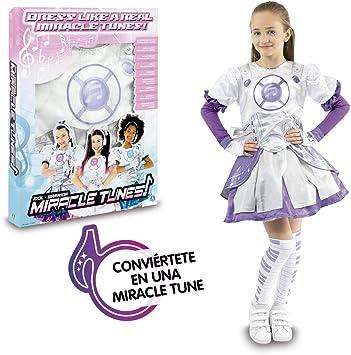 Miracle Tunes- Disfraz Emily, Tamaño Surtido, Color blanco/morado ...