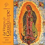La Virgen de Guadalupe 2019 12 x 12 Inch Monthly Square Wall Calendar with Foil Stamped Cover, Virgin of Guadalupe Mexico City