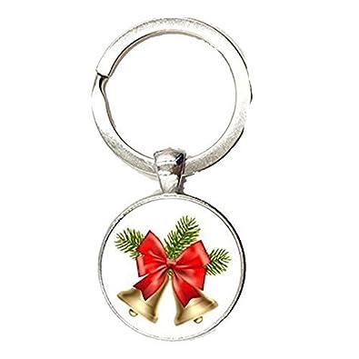 Llavero de aleación de zinc, regalo de Navidad, diseño de ...