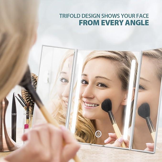 Aus Dem Ausland Importiert Design Tischspiegel Kosmetikspiegel Badspiegel Spiegel Schminkspiegel Bequem Und Einfach Zu Tragen Badzubehör & -textilien