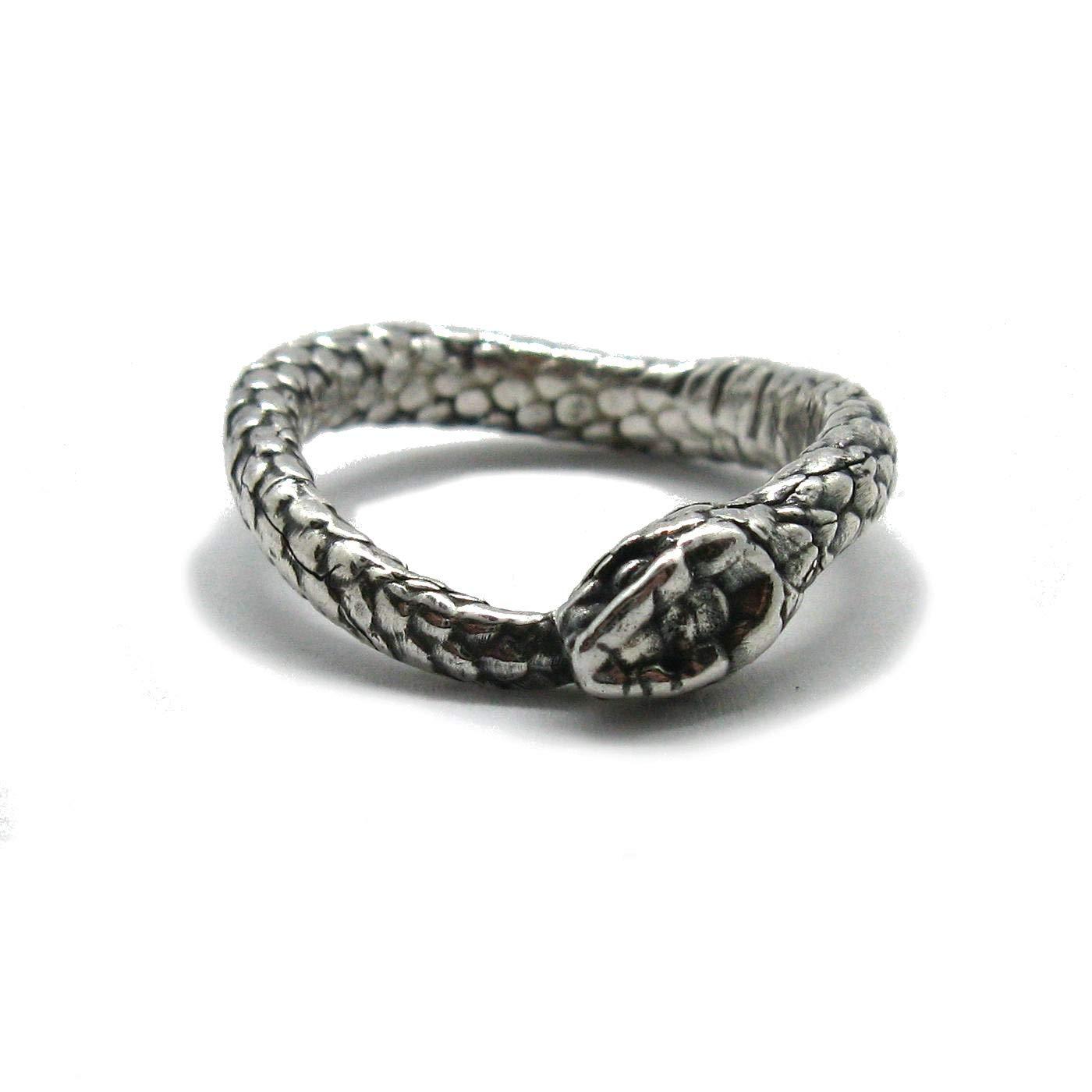 Bague en argent massif 925 Serpent Empressjewellery R001843