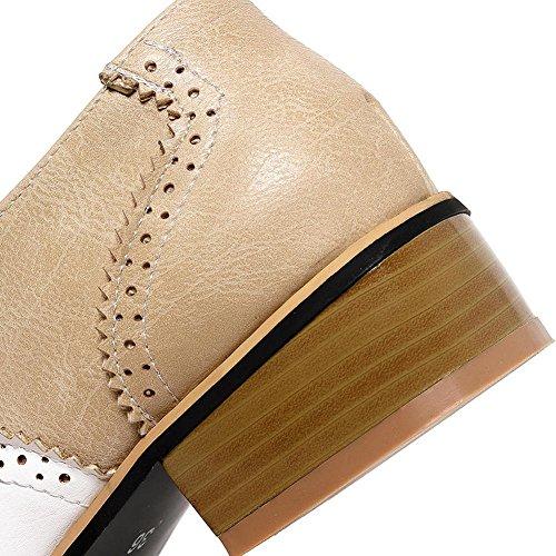 Fur Scarpe 7 DoraTasia beige Donna Beige Stringate nYqwBtwZxd