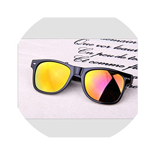 Amazon.com: Unisex Square Vintage Sunglasses men Women ...