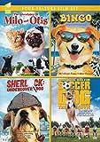 The Adventures of Milo and Otis / Bingo / Sherlock: Undercover Dog / Soccer Dog: The Movie (Four-Feature Film Set)