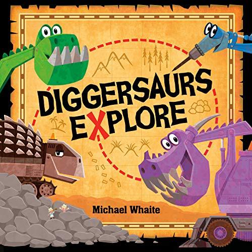 Book Cover: Diggersaurs Explore