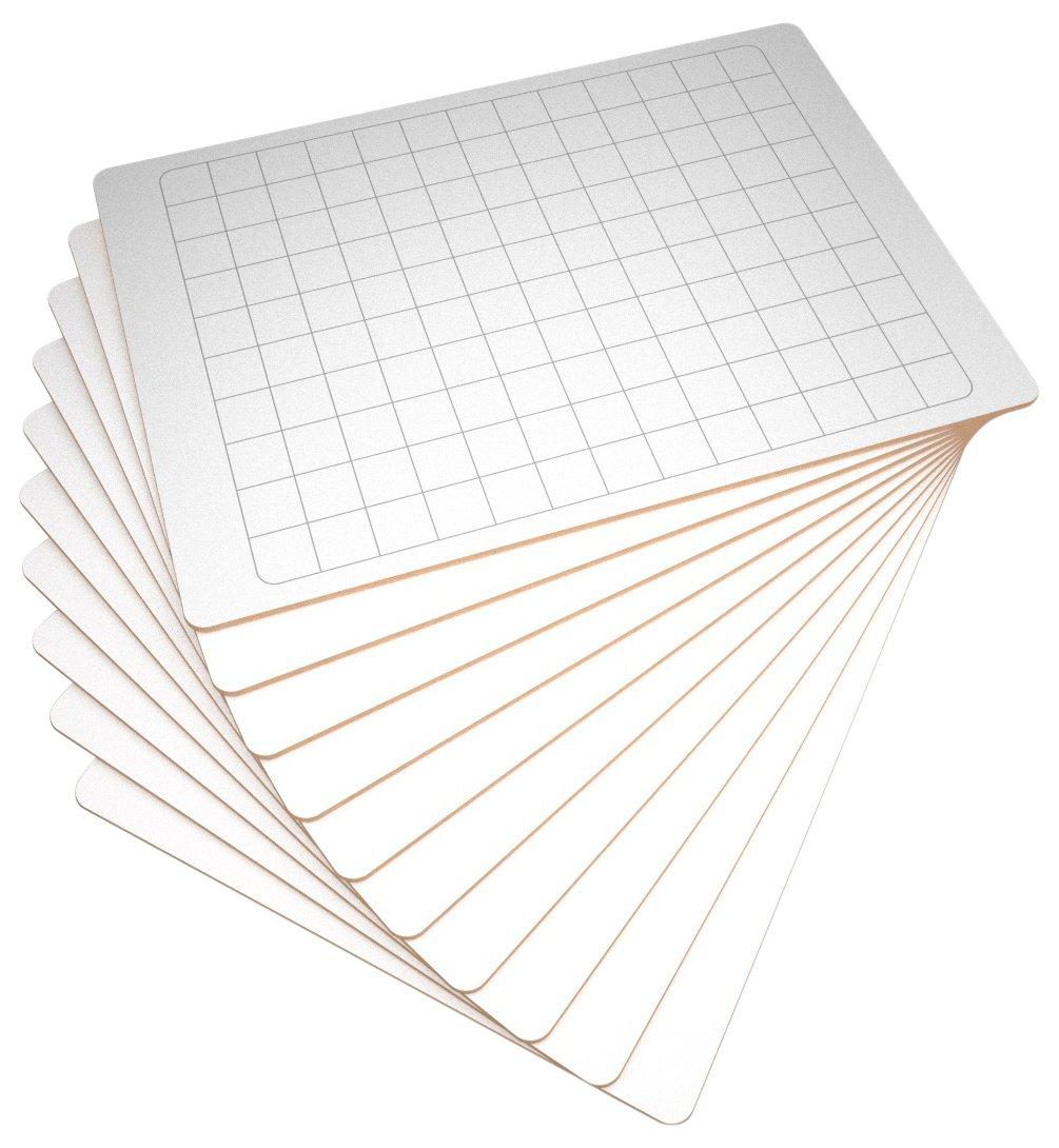 Paquete de 10 pizarras rígidas de borrado en seco A4 ...