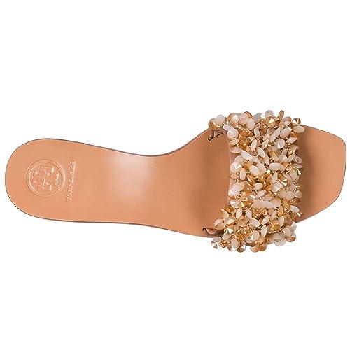 c9106a5c77494 Tory Burch Women s Slippers Sandals Beige US Size 9.5 46250 662 ...