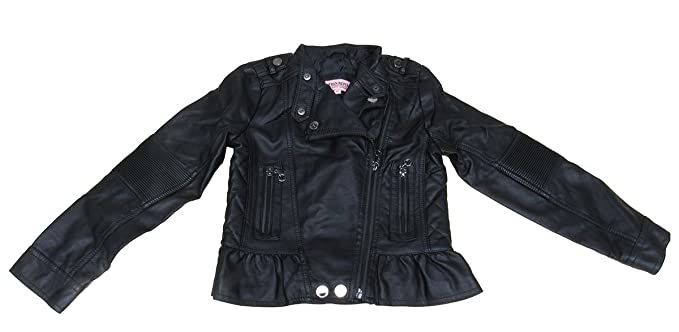 e8232991b4b0a Image Unavailable. Image not available for. Color  Urban Republic Faux-Leather  Moto Jacket ...