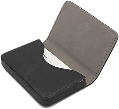 TENDYCOCO Wallet Multi-Functional Leather Card Holder RFID Credit Card Pouch(Black)