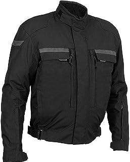 Newfacelook Men's Protective Armour Motorbike Motorcyle Waterproof Textile Jacket