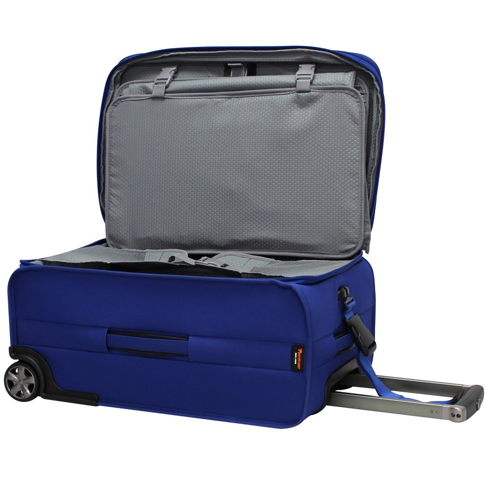 Pathfinder Revolution Plus 22 Inch Expandable Business Carry- On with Suiter, Cobalt Blue, One Size by Pathfinder (Image #3)