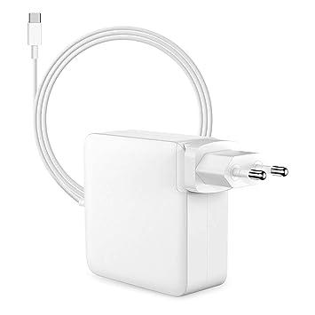 Mervy - 61 W - Cargador para Apple MacBook Pro, Funciona con ...
