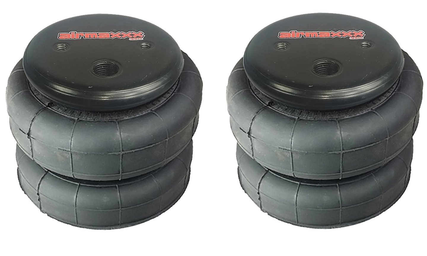 airmaxxx 2 Standard 2500 Air Ride Suspension Bags 1/2' npt