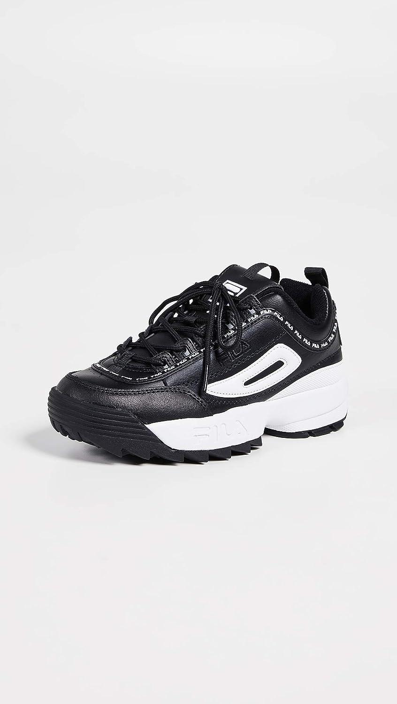 Fila Womens Disruptor II Premium Repeat Sneakers