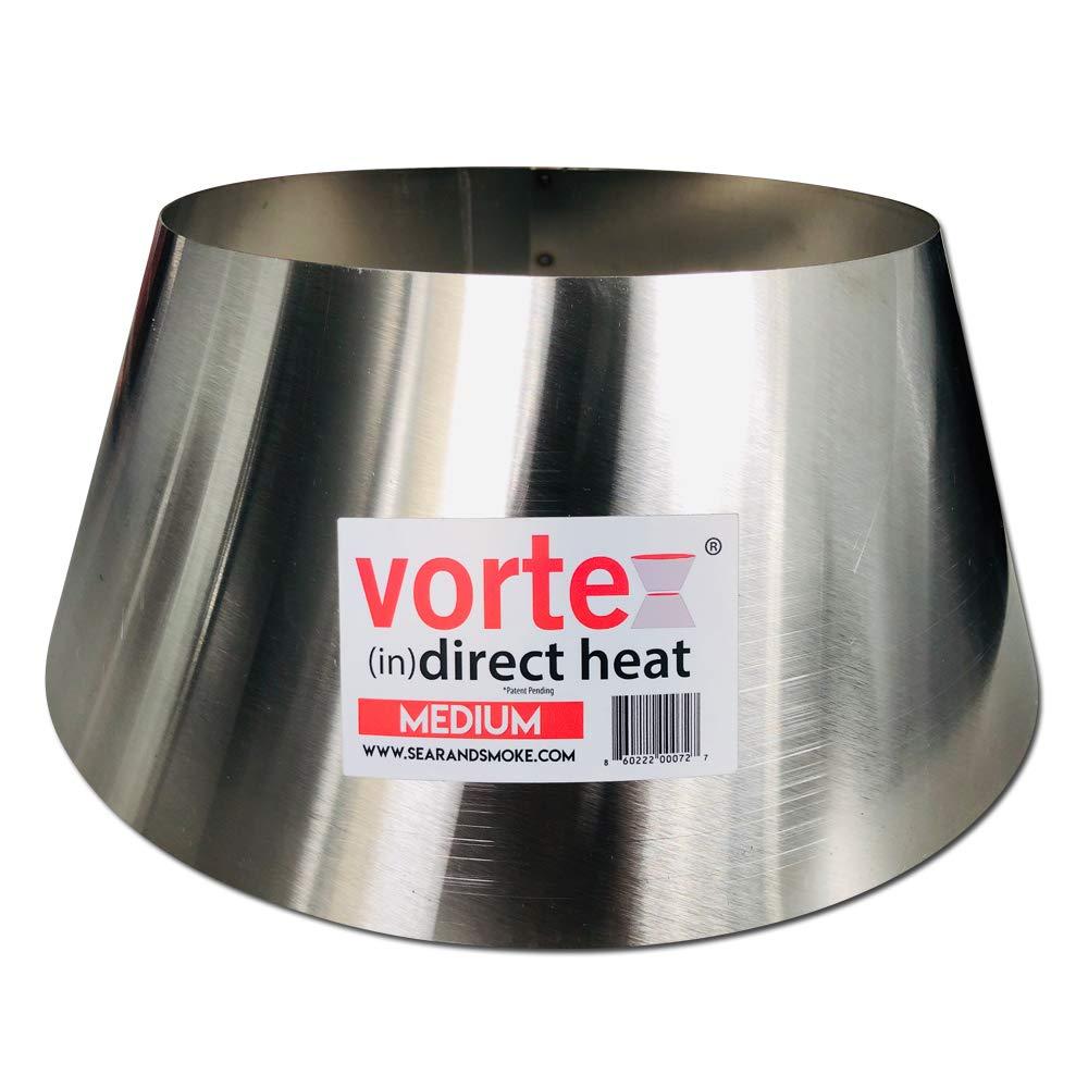 BBQ Vortex for Weber Kettle 22 26.75 WSM smokey mountain Medium Kamado Big Green Egg