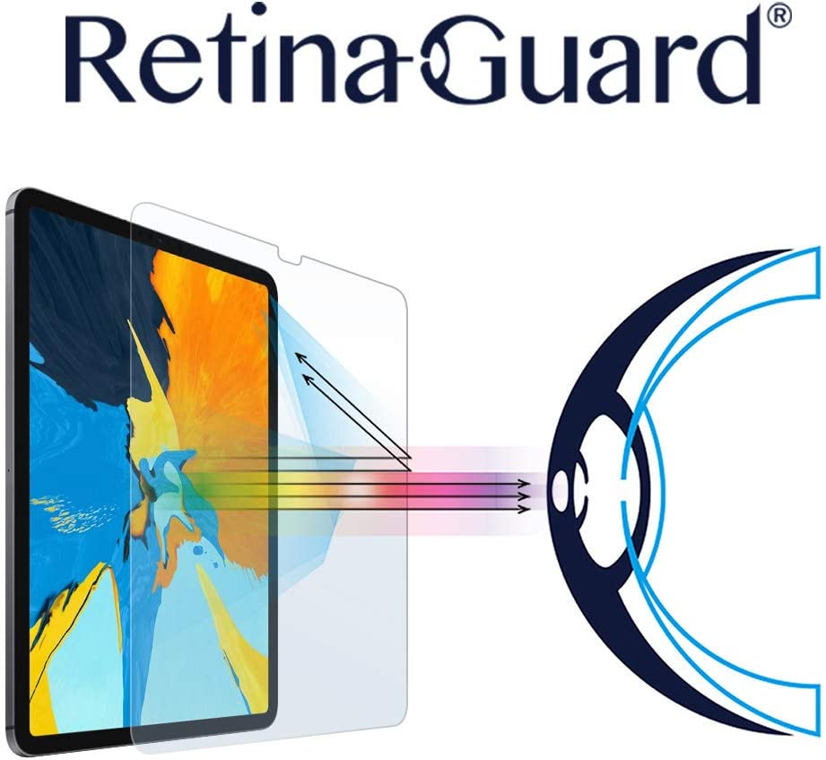 RetinaGuard iPad Pro 11 Inch (2018-2020) Anti Blue Light Screen Protector, Blocks Excessive Harmful Blue Light, Reduce Eye Fatigue and Eye Strain