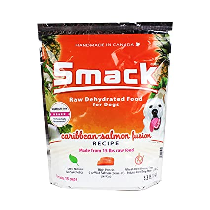 Smack Pet Food Organic Raw Dehydrated Dog Food Grain Free Gluten