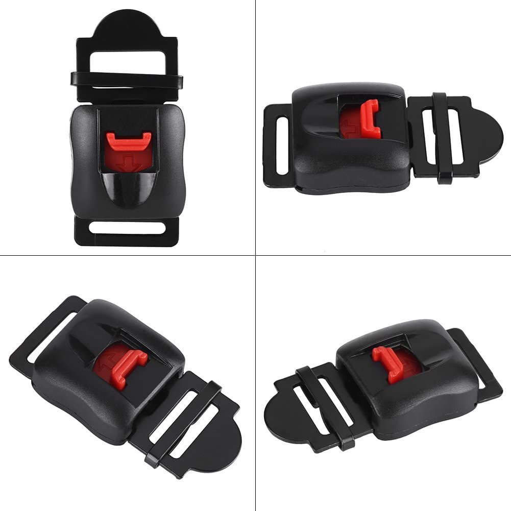 LetCart Boucles de Clip de Casque de Moto-Boucle de jugulaire Professionnelle adapt/ée /à Tout Casque 5pcs