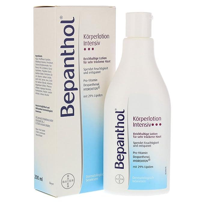 Loción corporal intensiva Bepanthol de 200 ml.: Amazon.es: Belleza