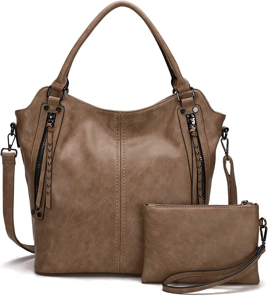 KL928 Womens Purses and Handbags Large Tote Satchel bags PU Leather Hobo Bag for Women