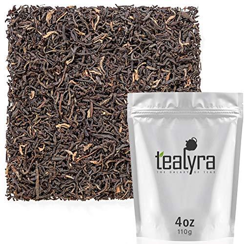 - Tealyra - Assam Harmony - Best Indian Black Loose Leaf Tea - Top Grade Second Flush - Perfect Morning Tea - Energy Boost - Caffeine Bold - Organically Grown - 110g (4-ounce)