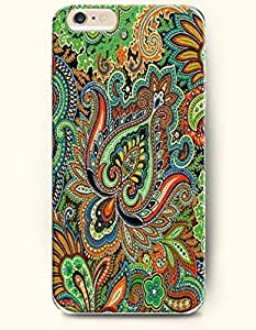 SevenArc Apple iPhone 6 4.7' 4.7 Inches Case Paisley Pattern ( Colorful Buteh Flowers )