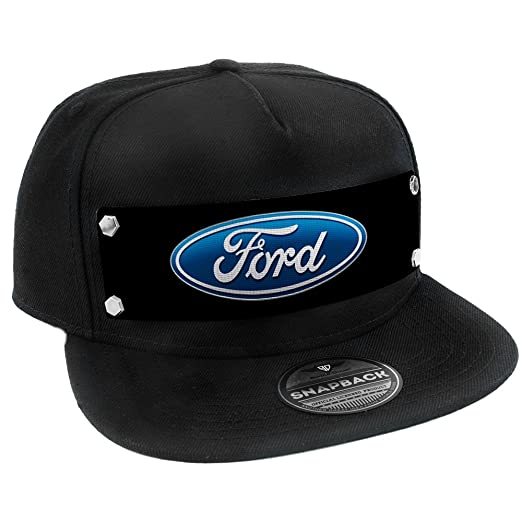 Amazon.com  Buckle Down Ford Oval Logo Trucker Hat  Clothing 41ff6950c2d