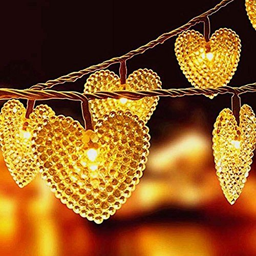 Heart Shaped Outdoor Lights in US - 9