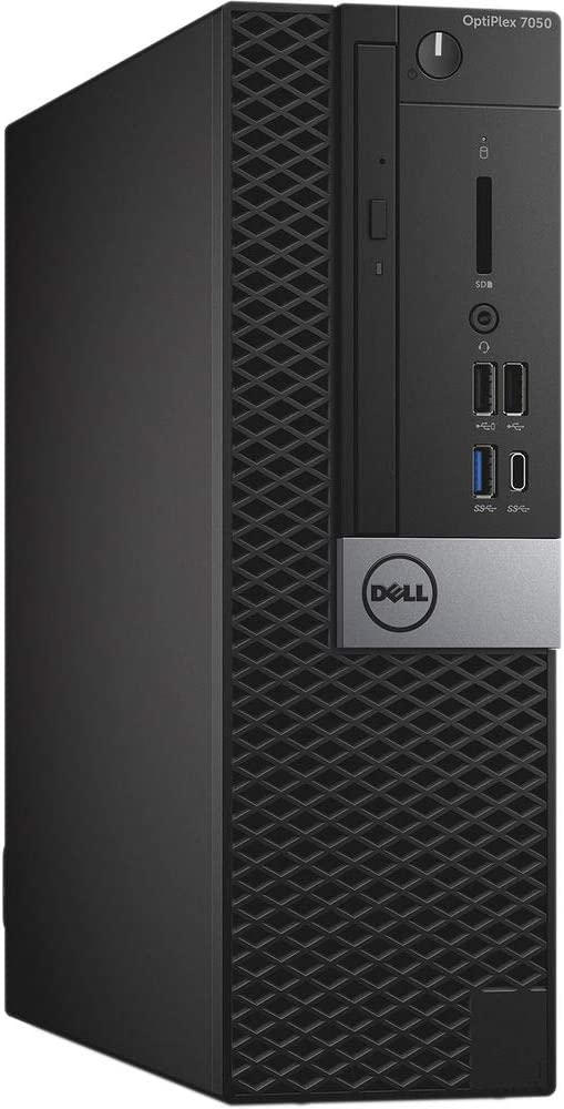 Dell OptiPlex 7050 Small Form Factor PC, Intel Quad Core i7-6700 up to 4.0GHz, 16G DDR4, 512G SSD, Windows 10 Pro 64 Bit-Multi-Language Supports English/Spanish/French(Renewed)