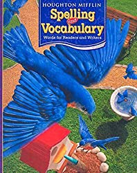 Image of the product Houghton Mifflin Spelling that is listed on the catalogue brand of Brand: HOUGHTON MIFFLIN.