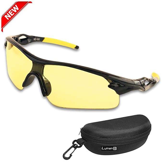 ff35020c584 HD Night Driving Glasses- Anti Glare Polarized Night Vision Reduce Eye  Strain Men Women (