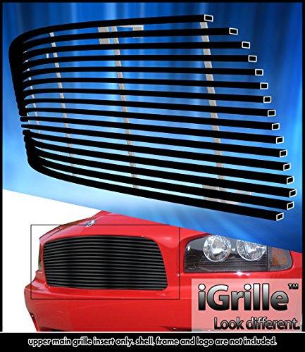 2007 Dodge Charger Billet (eGrille Fits 2005-2010 Dodge Charger Black Stainless Steel Billet Grille Insert)