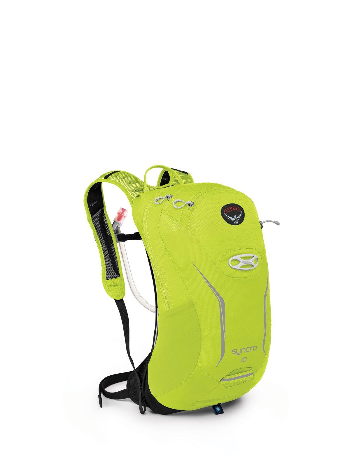 Osprey Packs Syncro 10 Hydration Pack, Velocity Green, Medium/Large