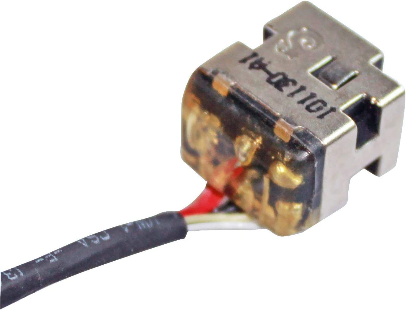 GinTai DC Power Jack with Cable Socket Plug Replacement for HP Pavilion dv6z-3200 CTO dv6-3201tx dv6-3263cl dv6-3264ca dv6-3267cl dv6-3210us dv6-3212nr dv6-3216us 30pcs