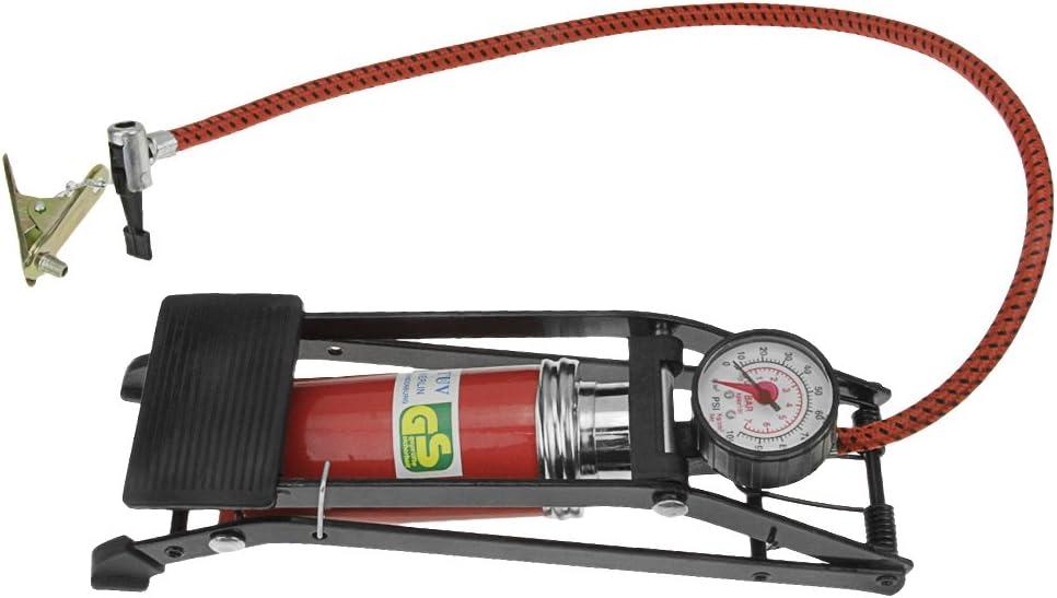 RUIXIB Muti – Bomba de pie con manómetro portátil Bomba de Alta ...
